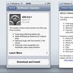 Letölthető az iOS 5.0.1-es frissítése: vége az akku gondoknak!