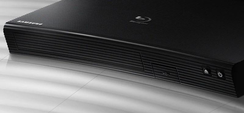 Ez már tényleg egy korszak vége: a Samsung feladta a Blu-rayt