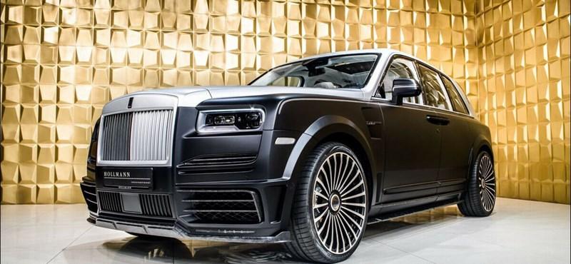 Sikerült egy kis átalakítással megduplázni a Rolls-Royce Cullinan 110 milliós árát