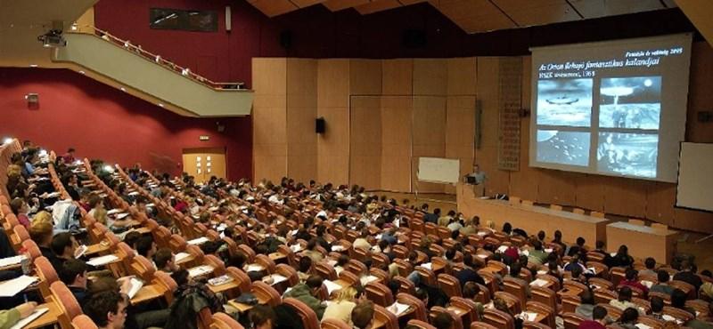 A Szegedi Tudományegyetemen is sok diák kezdi meg a tanulmányait 2017 szeptemberében