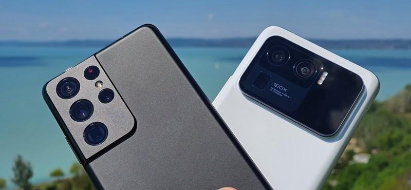 Összeengedtünk a Xiaomi és a Samsung legjobb telefonjait: teszten a Mi 11 Ultra és az S21 Ultra