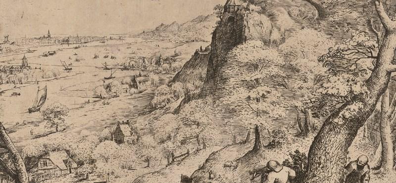 Bruegel rajzolt világa