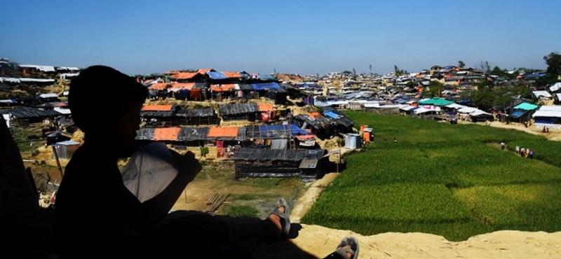 Újabb dollármilliókat kapnak a rohingya menekültek