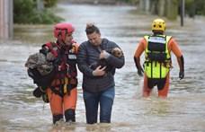 Egy éjszaka alatt válsághelyzet alakult ki Dél-Franciaországban, hatan meghaltak az áradásokban