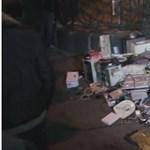 Így ostromolták meg a Fidesz székházát – videó