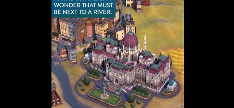 Bekerült a Civilization VI-ba a magyar Parlament