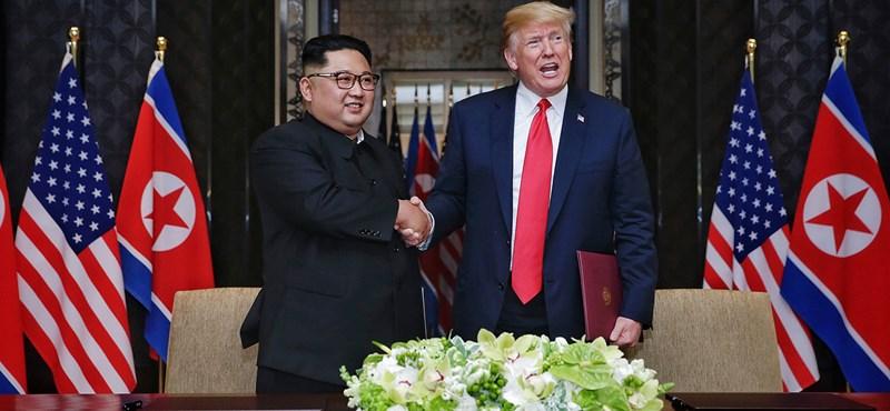 Trump: Észak-Korea többé nem jelent nukleáris fenyegetést