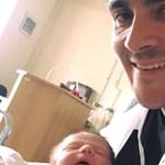 Megszületett Michelisz Norbert második gyermeke: fotón a boldog apuka és lánya