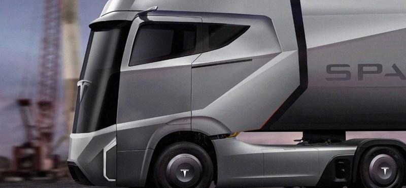 Nincs megállás: jön a Tesla elektromos kamionja és pickupja