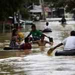 Trópusi vihar, földcsuszamlás a Fülöp-szigeteken. Több tucat halott