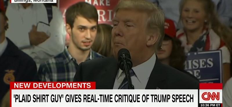 A fél internet egy 17 éves fiút ünnepel, aki véletlenül megtrollkodta Trump beszédét - videó