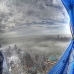 A nap képe: lélegzetelállító látvány a One World Trade Center 84. emeletéről