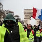 A tizenhatodik szombat: ismét tüntettek a sárgamellényesek Franciaországban