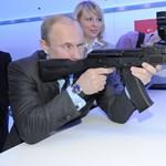 Putyin nem csak KGB-tiszt, hanem tüzérparancsnok is volt