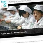 Nem kell rabszolgamunkával készült iPhone 5 - petíció