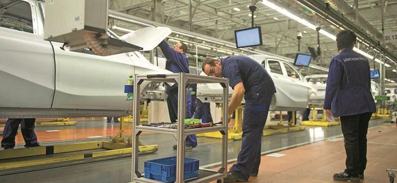 Új rekord született: soha nem gyártottak még ennyi Mercedest Kecskeméten, mint 2017-ben
