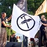 Ott voltunk egy új szélsőjobb mozgalom első műsorán - videó