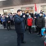 A kínai elnök a járvány miatt politikai katasztrófától is tarthat