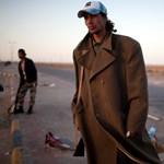 Líbiai felkelők: arcuk a harcban fáradt meg - Nagyítás-fotógaléria