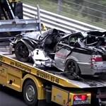 Videó: Csak a nagy sárga autó ne jöjjön a Nürburgringen