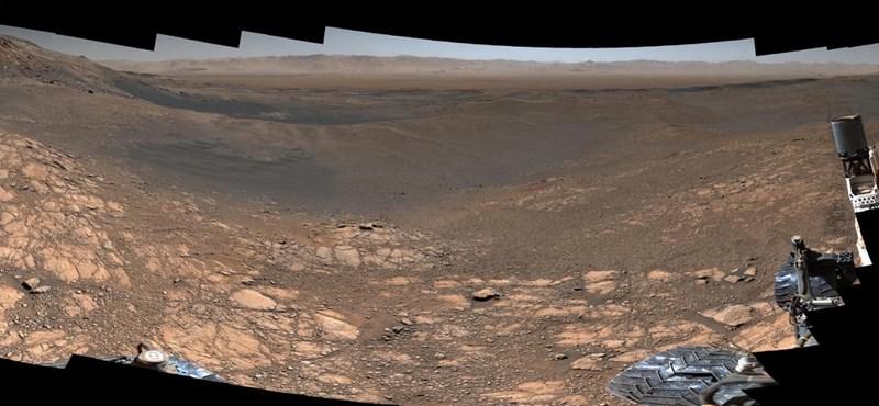 Ilyet még nem láthatott: 1,8 milliárd pixeles panorámafotót tett közzé a Marsról a NASA
