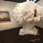 Felhős játszóház a gyerekszobában
