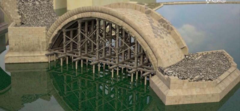 45 évnyi építkezés 3 percben: így készült el a középkorban a prágai Károly-híd