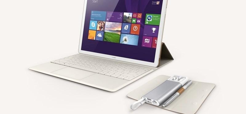 Tablet és laptop egyben: nagyon vékony gépet mutatott be a Huawei