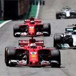 Vettel nyert, Hamilton a boxból rajtolva negyedik Brazíliában