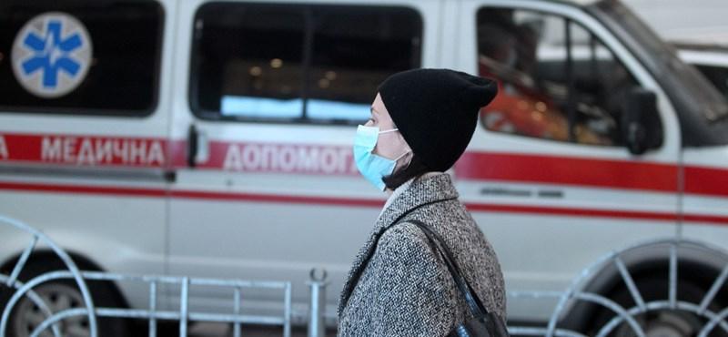 Szomorú csúcsokat döntöget a járvány Ukrajnában