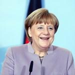 Merkel érdeklődve olvasta el, mit mondott róla Trump