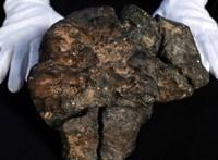 Valaki 172 millió forintot adott egy 5,5 kilós meteoritért, de nem is csoda