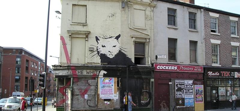 Egymilliárd forintért kelt el Banksy egyik leghíresebb műve