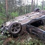 Fotók: Erdőirtás lett a BMW M4-es menetpróba vége