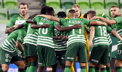 BL-selejtező: Két góllal vezetett, végül döntetlenre mentette a meccset a Ferencváros