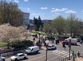 Capitol closed due to car attack
