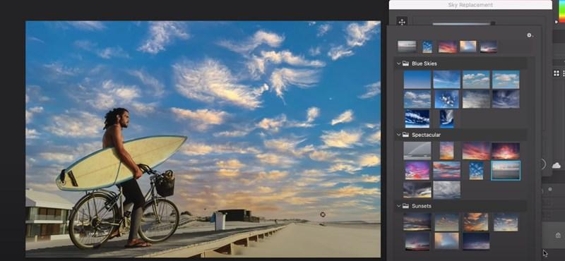 Bámulatosan tudja lecserélni az égboltot, a felhőket a Photoshop új funkciója – videó