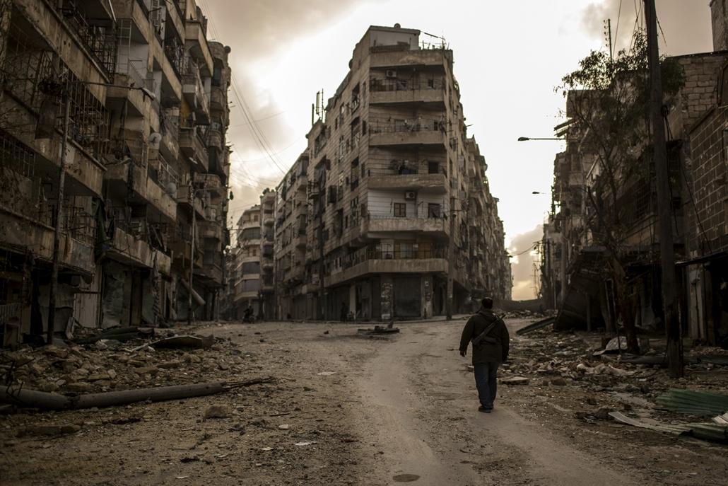 NE használd_! - Magyar fotográfusok háborús képei 100 éve és ma - nagyítás - Aleppó, Szíria - 2013. február 10.