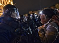 BRFK: Eddig 57 embert állított elő a rendőrség a tüntetések miatt