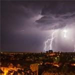 Megjött az újabb viharzóna, nemsokára Budapestet is eléri – térkép
