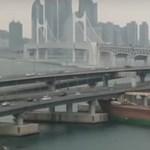 Ittas volt a kapitány, a kikötő hídjába hajtott a teherhajó