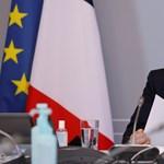 Koronavírusos Emmanuel Macron