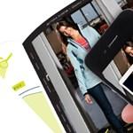 Levetkőzteti a ruhakatalógusban látható hölgyeket az iPhone