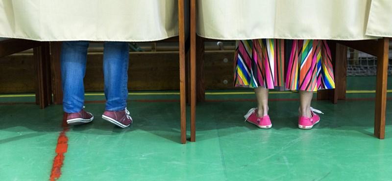 EP-választás: este fél hétkor 41,74 százalékos a részvételi arány