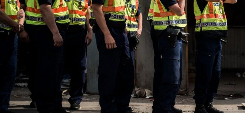 Sirályt, a lovat és a forgalomirányítást is megköszönték a rendőröknek