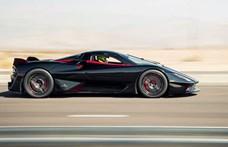 Normál utcai gumikon érték el az 532,93 km/h-s sebességrekordot