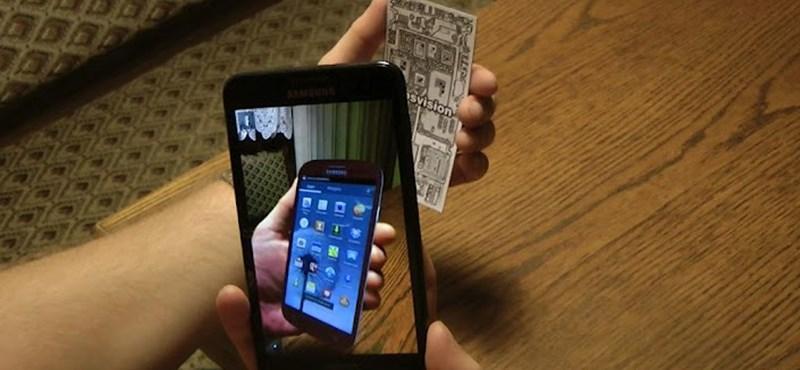 Nézze meg, hogyan áll a kezében bármelyik okostelefon