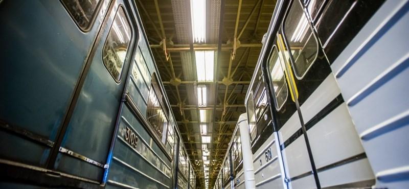 Fapados módszerrel foltozgatják a felújított metrókat