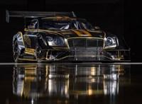 Biobenzinnel, de nagyon vad külsővel megy majd a Bentley versenyautója