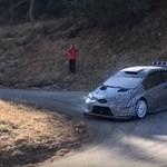 Hangos kis méregzsák lett a Toyota Yaris WRC – videó